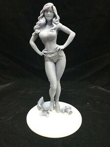"""1/6 Scale Spiderman -Mary Jane Watson (12"""") / Fan Art / Resin Figure / Model Kit"""