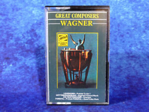 WAGNER Prelude To Act I / Good Friday + more RARE AUDIO CASSETTE TAPE 1964 #1