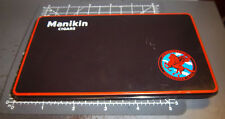 Manikin Cigar tin, from England, great graphics & color, empty, 6.25 x 3.5 inch