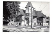 Ia - Guthrie Center Iowa Rppc Photo Postcard Methodist Church