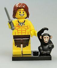 Lego® Minifigur - Serie 7 - Dschungelkind (31) *mit Grundplatte*