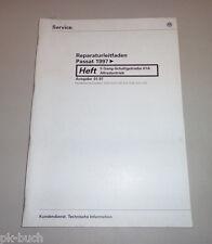 Workshop Manual VW Passat B5 5 Gang Manual 01A Syncro Stand 01/1997