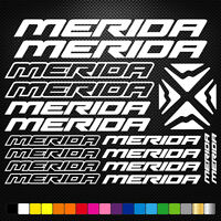 Merida 20 Stickers Autocollants Adhésifs - Vtt Velo Mountain Bike Dh Freeride