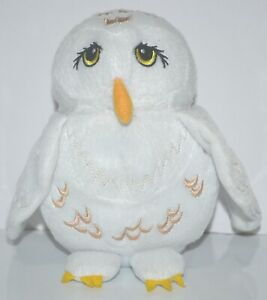 Harry Potter Hedwig Owl Soft Plush Animal Toy 15 cm With Zip Pocket