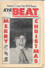 Kya Beat Vol 2 #11 Merry Christmas 1966 Teen Newspaper +Stones, Beatles
