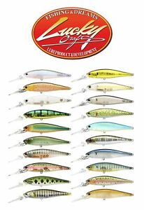 Lucky Craft Pointer 78 DD 7,8cm 9,6g Fishing Lures (Choice Of Colors)