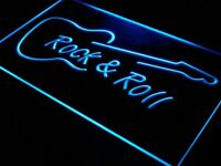 i303-b Rock and Roll Guitar Music NEW Neon Light Sign