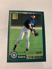 2001 Topps Ichiro Suzuki #726 Rookie RC Seattle Mariners Japan Baseball