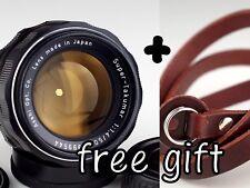 Super Takumar 1.4/50 M42 Pentax Asahi lens + free CAMERA STRAP