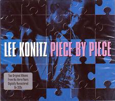 LEE KONITZ - PIECE BY PIECE (NEW SEALED 2CD) 2 VERVE ALBUMS