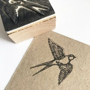 Swallow Bird Wooden Rubber Printing Stamp Scrapbooking Craft Cards Stamps Birds