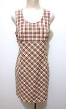 KRIZIA JEANS Abito Vestito Donna Cotone Cotton Woman Dress Sz.M - 44