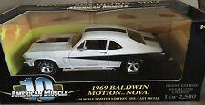 RARE Hobby NOS ERTL 1969 BALDWIN MOTION NOVA Rosen '69 Chevy SS427 STINGER Hood