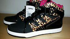 New Adidas Originals MC-X1 Women Trainers Shoes Size 7 Black Animal Print Pink