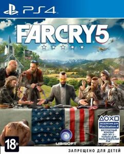 *NEW* Far Cry 5 (PS4, 2018) Russian, English version