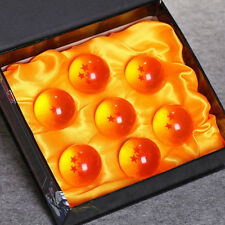 7 JP Anime Dragon Ball Z Stars Set DragonBall 3.5cm Pvc Crystal Ball Gift Set