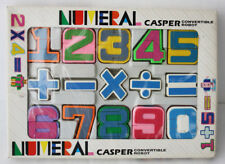 VINTAGE 80'S NUMERAL CASPER CONVERTIBLE ROBOT NUMBERS TRANSFORMING TAIWAN NEW !
