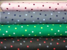 "cotton polka dot print fabric 100% cotton 56"" wide High Quality"