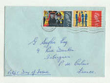 FDC England Angleterre enveloppe timbre 1er jour 1965 / B5fdc11