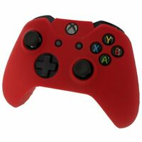Red Silicone Skin for Xbox One Controller Case Cover Gel Rubber Protective