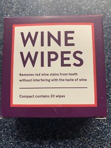 Wine Wipes Remove Red Wine Stains from Teeth