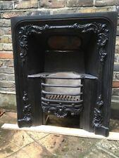 Early Victorian / Late Georgian Cast Iron Fire Insert London House (c) 1850