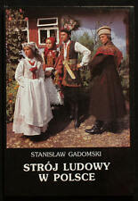 BOOK Polish Folk Costume - best album with many photos of ethnic fashion POLAND