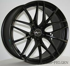 Breyton Fascinate Matt Black Felgen 8,5 und 10x20 Zoll BMW 3er 4er 5er 6er M3 M4