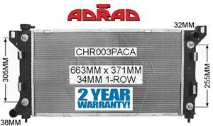 CHRYSLER VOYAGER & GRAND VOYAGER 1997-2001 2 X OIL COOLER RADIATOR *ADRAD*