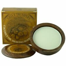 Geo F Trumper Coconut Shaving Soap & Wooden Shaving Bowl