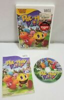 Pac-Man Party (Nintendo Wii) ARCADE GAME COMPLETE w/MANUAL PACMAN FREE SHIP