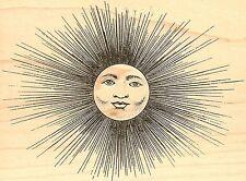 Sun King, Wood Mounted Rubber Stamp JUDIKINS - NEW, 2331H