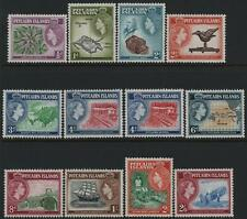 More details for pitcairn islands-1957-63 set to 2/6 sg 16-28 mounted mint v39244