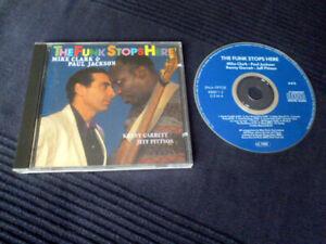 CD Mike Clark & Paul Jackson & Kenny Garrett - The Funk Stops Here Enja 1992