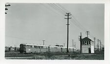 6E475 RP 1959 SAN FRANCISCO BAY AREA TRANSIT RAILROAD CAR #150 & TOWER