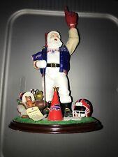 The Danbury Mint Buffalo Bills Santa Claus Go Bills! Figure Nfl Pro Team