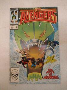 AVENGERS #293 JULY 1988 NM NEAR MINT 9.6 MARVEL COMICS COPPER AGE KANG NAMOR