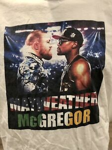 Floyd Mayweather VS Conor McGregor Fight Boxing T-Shirt Size - FREE SHIPPING
