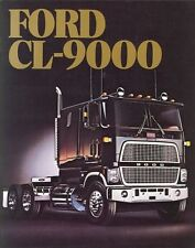 1983 FORD CL-9000 TRUCK BROCHURE -FORD CL-9000 TRUCK