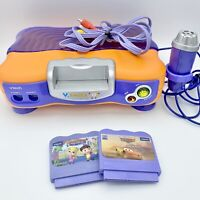 VTech V Smile TV Learning System Console, No Controller, Turns On, Parts/repair