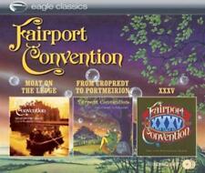 Fairport Convention - Moat On The Ledge/Cropredy To Portmeirion/XXXV NEU  3-CD