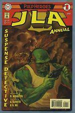 JLA Annual #1 1997 Pulp Heroes Ariel Olivetti Gene Ha DC Comics