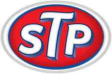 "STP Racing Nascar Car Bumper Window Locker Notebook Sticker Decal 5""X3"""