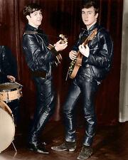"The Beatles John Lennon Paul McCartney Photo Print 13x19"""