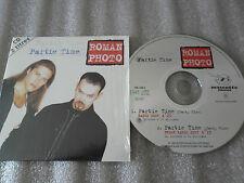 CD-ROMAN PHOTO-PARTIE TIME-FRESH RADIO-MASCOTTE MUSIC-(CD SINGLE)1996-2TRACK