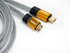 ULTRA PREMIUM Mini-HDMI Cable for HD DV Canon ELPH Powershot Sony Nikon Samsung