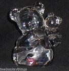 "Orrefors Crystal Koala Bear A Baby Sweden Figurine Paperweight Vtg Figure 4.5"""