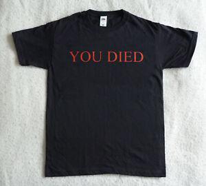 YOU DIED Bloodborne Dark Souls T-SHIRT