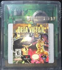 Deja Vu I & II *RARE* Game Boy Color Very Good Condition