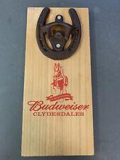 New listing Budweiser Horshoe Beer Bottle Opener